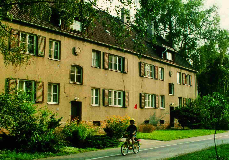 """1. Bauabschnitt: Sanierung """"August-Bebel-Siedlung"""""""