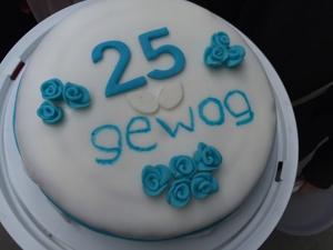 Jubiläumsfest 25 Jahre gewog