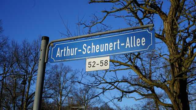 Arthur Scheunert Allee
